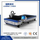 Cortador do laser da fibra do metal de Lm3015FL para o aço de carbono do negócio de anúncio 3mm