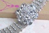 형식 큰 다이아몬드 목걸이 과장된 합금 수정같은 꽃 여성 목걸이