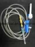 Dispositivo médico descartável de venda a quente com lâmpada e agulha de látex