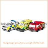 Het Speelgoed van de Kinderen van de Politiewagen van de Ziekenwagen van de Vrachtwagen van de Brandbestrijding van de pluche