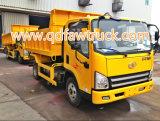 5 톤 가벼운 팁 주는 사람 트럭 Faw 덤프 트럭