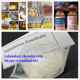 Poeder Enanthate van de Test E/Testosterone van het Poeder van 100% het Verschepende Steroid voor de Bouw Musle