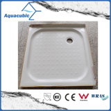 Sanitary Ware Aquare 2 Side Lips Bandeja de chuveiro de fibra de vidro ABS (ACT9090)