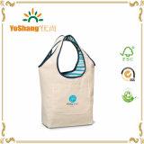 Мешок 100%, хозяйственная сумка холстины хлопка Multi использования многоразовый джута