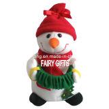 Peluche Bonhomme de neige de Noël