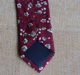 Handmade 꽃 인쇄 남자의 면 여위는 넥타이