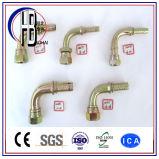 Raccords de tuyaux en caoutchouc hydrauliques à haute pression Raccords de tuyaux Métriques Dk, Dkj, Dki, Dkol, Dkos, Orfs, Bsp, Jic, FL, Interlock Fitting