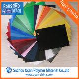 Прокатанный PVC лист PVC листа Electroplated опаковый твердый для украшения