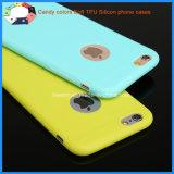 Nieuw kom de Kleurrijke Mobiele Dekking van de Telefoon TPU voor iPhone 6s aan