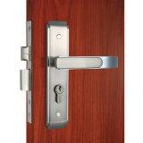 침실을%s 크롬 스테인리스 격판덮개 문 손잡이 자물쇠 레버 장붓 구멍 자물쇠