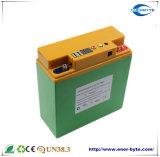Paquete 12.8V 20ah de la batería LiFePO4 con USB dual 5V