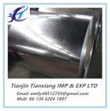 Bobina de acero galvanizada sumergida caliente rodada plana de los productos de acero de la calidad