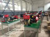 186F 9HP motor diesel Ruta Rotary timón