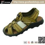 Chaussures neuves de santals de sport d'été de type de mode pour les hommes avec le premier cuir 20019-1