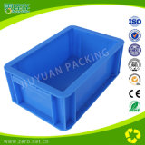 Blue Color Heavy Duty Plastic Logistic EU Container