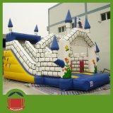 スライドが付いている膨脹可能な城を跳ぶ熱い販売