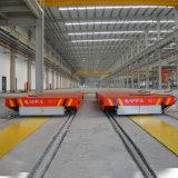 Vlakke Aanhangwagen van de Spoorweg van de hoge Efficiency de Elektrische voor de Materiële Overdracht van de Fabriek