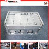 Montaggio di alluminio del contenitore di lamiera sottile piegando di taglio del laser