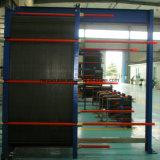 Cambista de calor refrigerando inoxidável da placa da gaxeta do álcôol etílico da placa de aço de frame de aço de carbono