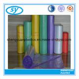 Bolso de basura plástico colorido al por mayor del bolso de basura