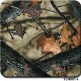 Tsautop 0,5 m/1m de largeur et l'arbre de camouflage Film hydrographique matériaux décoratifs PVA soluble dans l'eau de l'impression Film, Film d'impression Transfert d'eau Tsmh037