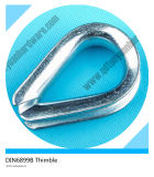 Us Standard Zinc Plated Heavy Duty Wire Rope Thimbles G414