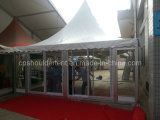Tente en verre extérieure de Gazebo de la tente 2017 populaire