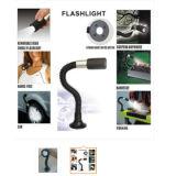 12 LED-Arbeits-Licht mit flexiblem Stutzen und Magneten für die Automobil-Reparatur oder Garage-Arbeits-Beleuchtung