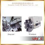 Macchina di giro del tornio del piccolo di precisione della Cina di inclinazione della base metallo di CNC