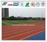 No tóxico e inofensivo goma Runing pista del campo de deportes
