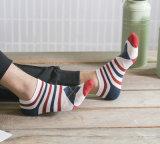 Verano de algodón británica Barco baratos al por mayor hombres del precio de calcetines cortos