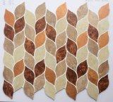 Mosaico ambiental del vinilo de la hoja 2017