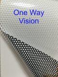 Самоклеящаяся виниловая пленка Contravision перфорированные окна наклейка для растворителя печать