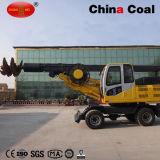 Programa piloto de pila estático rotatorio del excavador hidráulico de la construcción