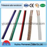 Cable de altavoz transparente, doble cable, Cable de altavoz paralelo