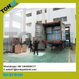 Bandeja de acero inoxidable la circulación de la máquina de secado de hortalizas frutas