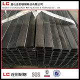構造の建物のための共通のカーボンブラックの空セクション管か管