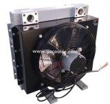 Enfriador de aceite de aluminio con motor hidráulico