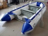 Offerte (3.6m, aluminiumvloer, white&blue kleur)
