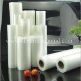 Custom Ny/PE sacos de vácuo em relevo no rolo para embalar alimentos