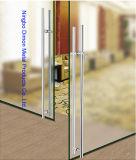 Het Handvat van de Deur van het Glas van het Roestvrij staal van het Type van Dimon H met Slot DM-DHL 033
