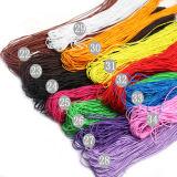 Trenzado de cuerda de algodón suave de poliéster, soga, cuerda de PP