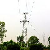 110kv solo ángulo de circuito de potencia torre de acero Transmision