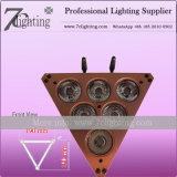 Lumière sans fil Uplighting à piles de PARITÉ de la triangle DEL