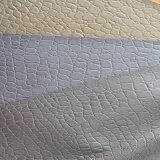 Тисненые кожаные туфли (ZS007-12057)