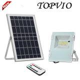 Прожектор напольного освещения солнечный СИД с панелью солнечных батарей