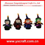 Décoration d'Halloween (ZY11S352-1-2-3) Décoration à domicile Halloween Cadeau de sorcière moderne