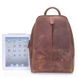 При ежедневном использовании ручной работы из натуральной кожи Crazy Horse школьные сумки рюкзак для студентов