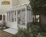 Het Beweegbare Huis van de Villa van het Aluminium van het Ontwerp van de architectuur met geworpen of overspannen Dak het van de Geveltop,