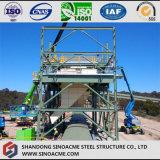 Planta de mina pesada del marco de la estructura de acero